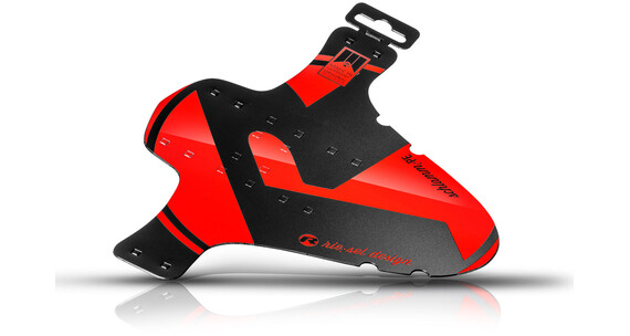 """rie:sel design schlamm:PE Front Mudguard 26-29"""" red"""